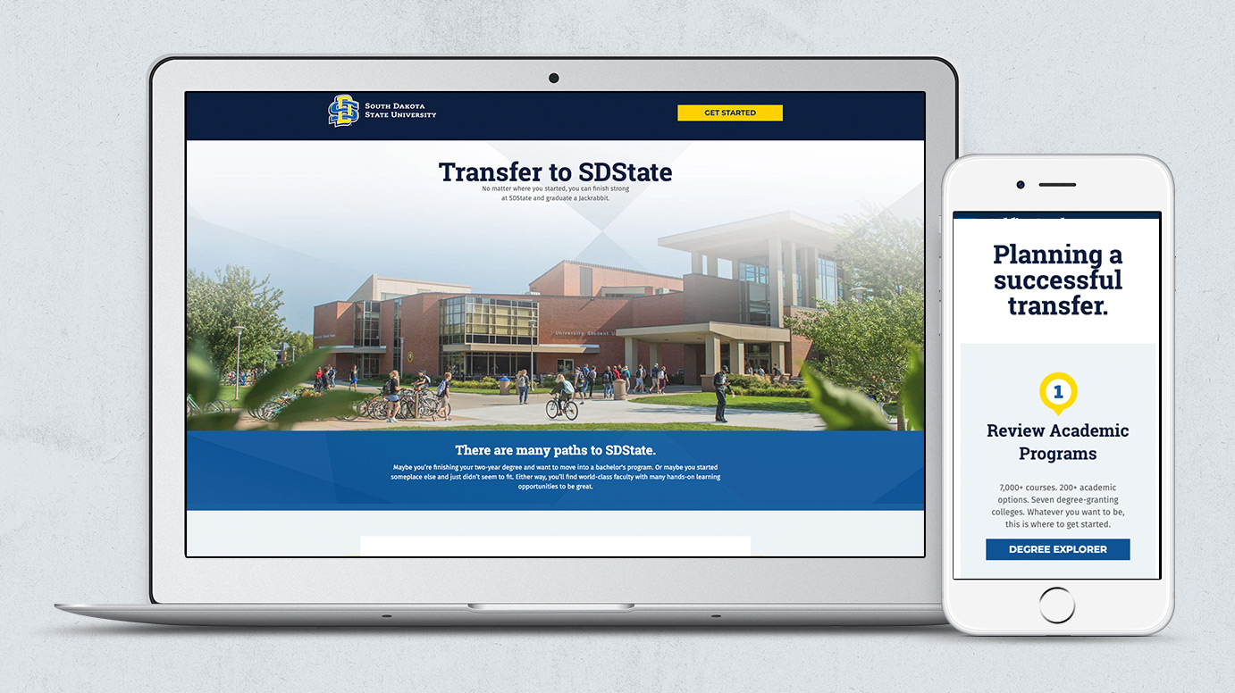 SDState - Landing Page
