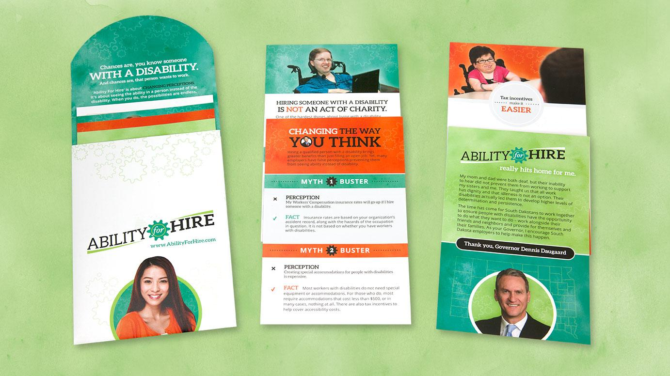 Ability For Hire Collateral Employment Brochure