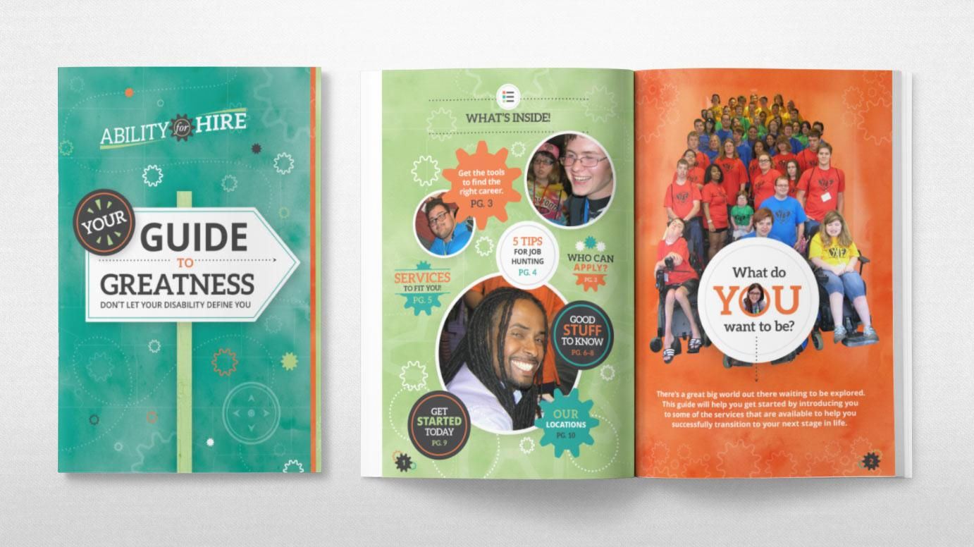 Ability For Hire Collateral Youth Brochure