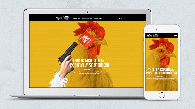 Armscor RIAdiculous Website