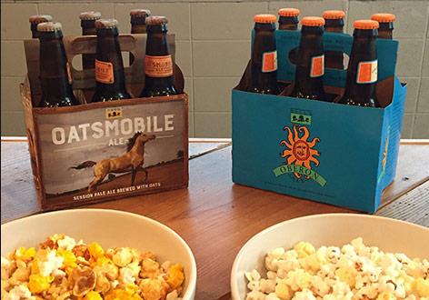 CBF Beer And Popcorn
