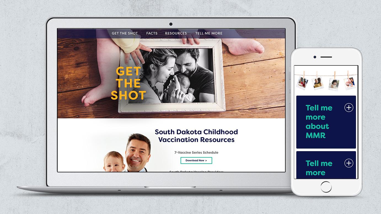 Child Vaccination Website