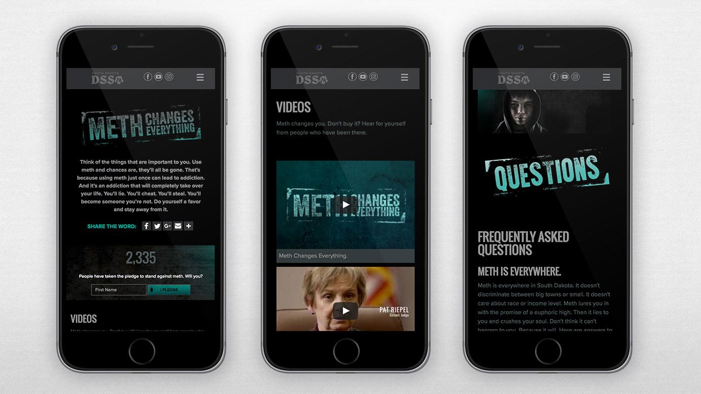 Meth Website Mobile