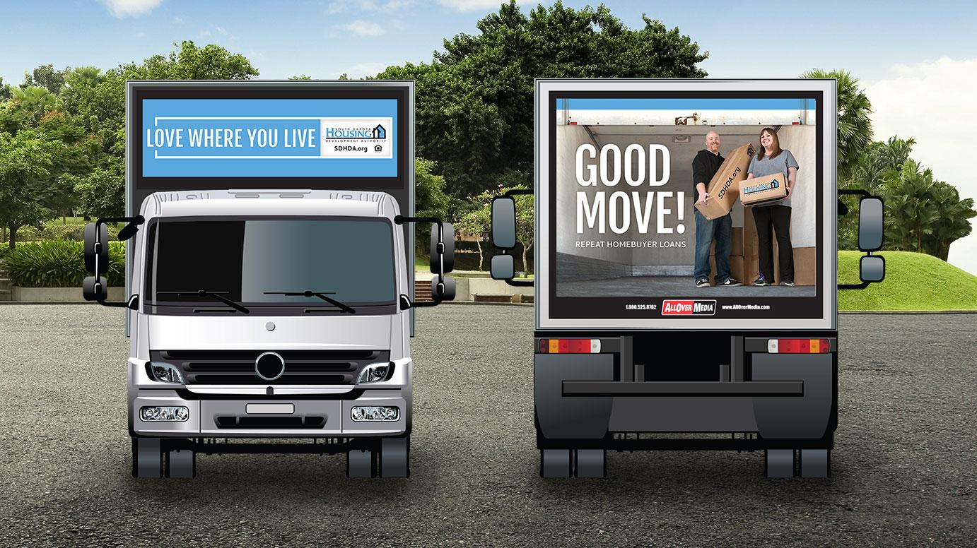 Truck Wrap - Front & Back