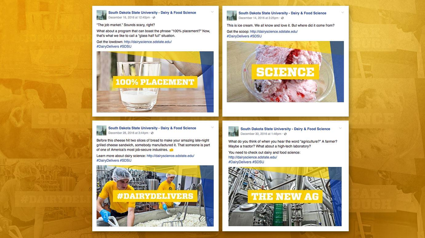 Dairy Science Promoted Social Posts