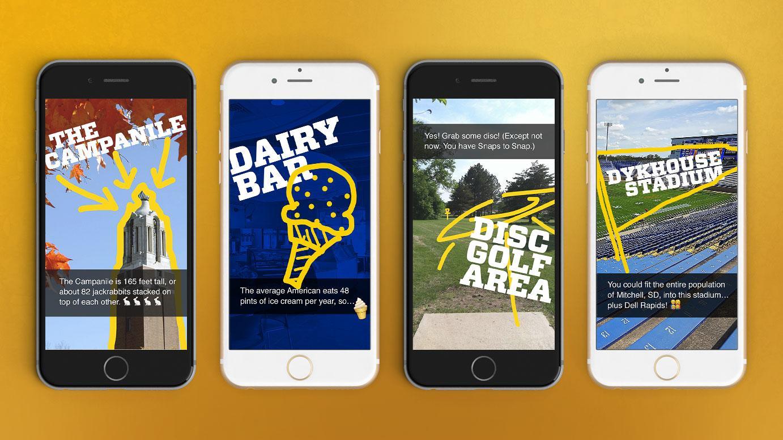 SDSU Digital Scavenger Hunt Snap Chat